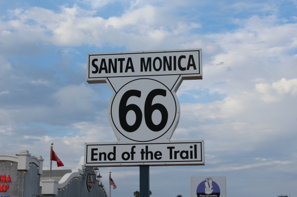 Santa Mónica - Route 66 End of the Trail
