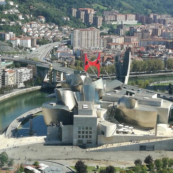 Guggenheim Bilbao desde Torre Iberdrola